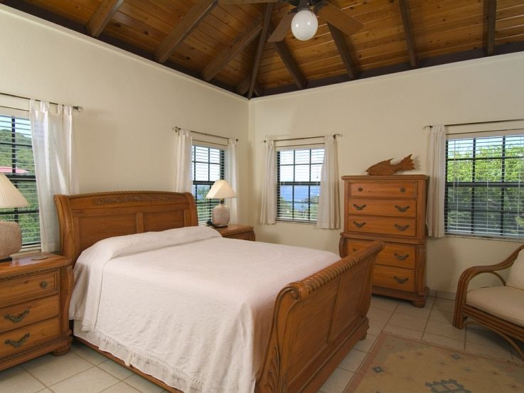 Eden's Whim air conditioned bedroom