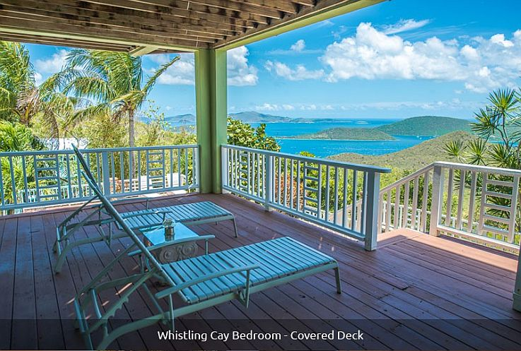 Bedroom-lower-Whistling-Cay-covered-deck-view