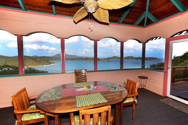 Indoor Dining with a View
