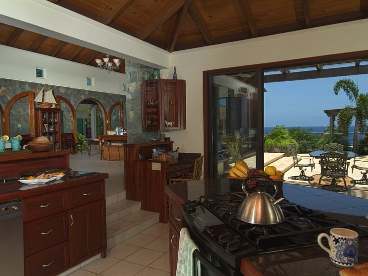 Kitchen and Outdoor Dining