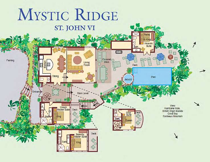 Mystic Ridge Floor Plan