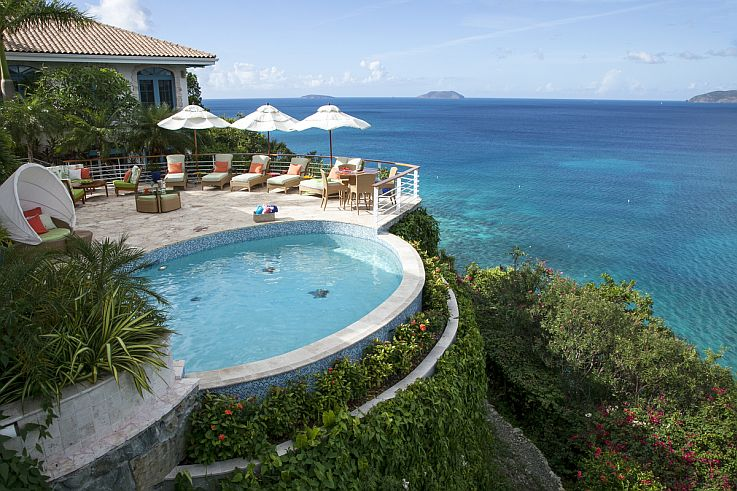 The Cliff House Villa St John House Rentals In The Us
