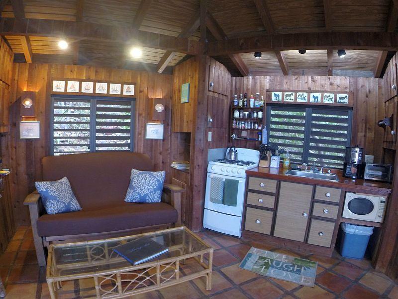 Captain's Cabin Kitchen