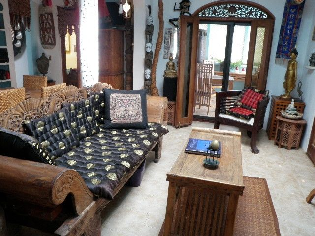 Living room at Buddha Gardens