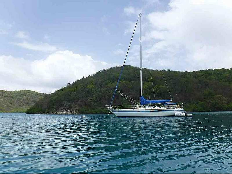 Charter Sailboat Long Distance