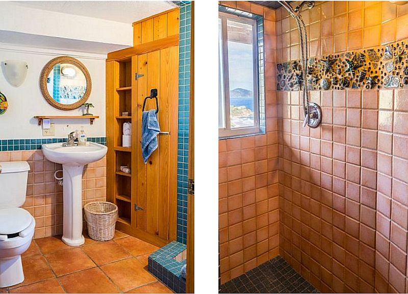 Downstairs Bathroom and Shower