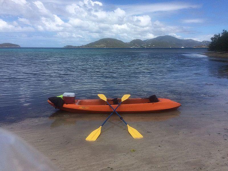 Glass bottom Kayak for your use.