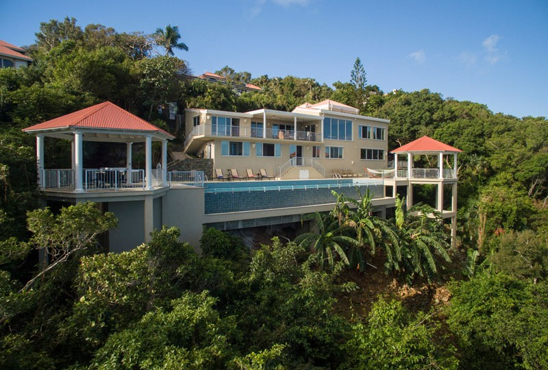 Great escape st john house rentals in the us virgin islands for The great escape house