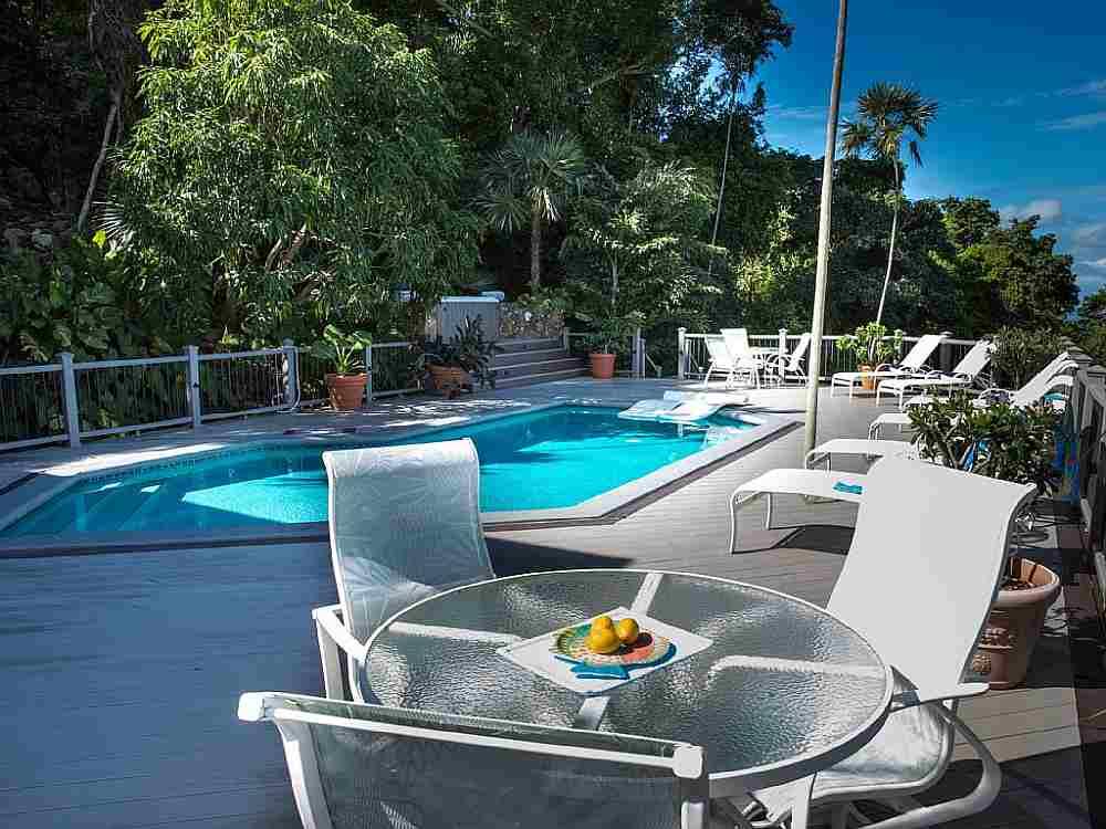 Pool at Cinnamon Bay Estate