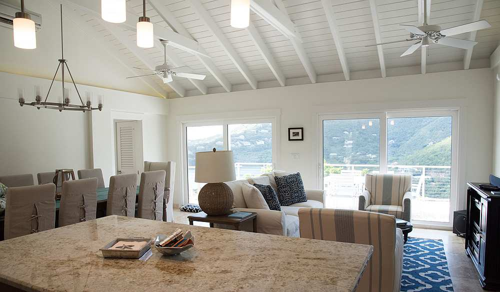Great Room at Casa Del Palmas