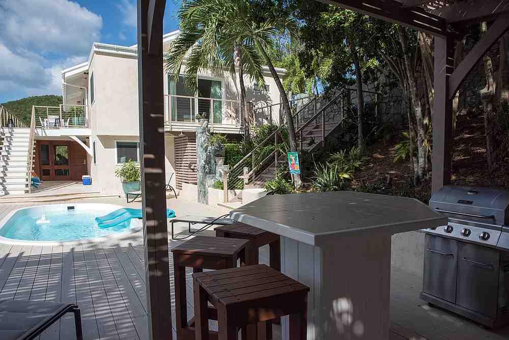 Pool Deck at Casa Del Palmas