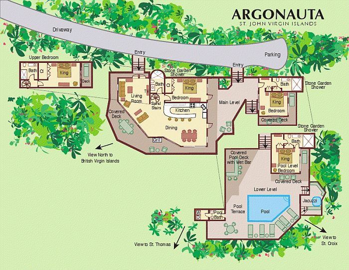 Argonauta Villa Floor Plan