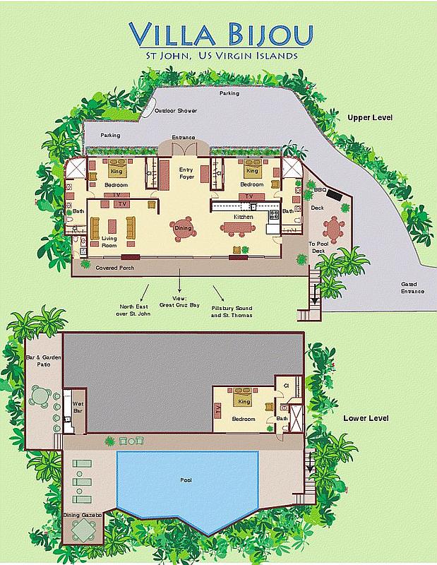 Villa Bijou Floor Plan