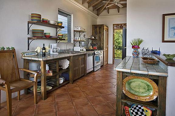 Ristaba Villa Kitchen