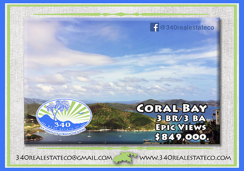 3 bedroom 3 bath in Coral Bay for sale
