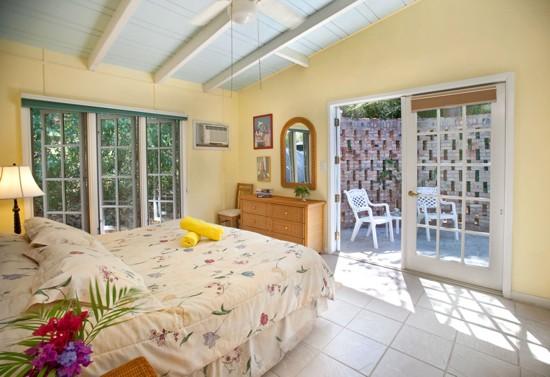 Idyllic Bedroom and Porch