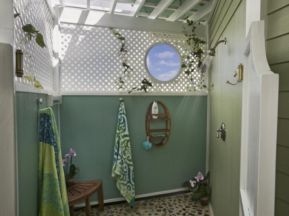Private Garden Shower