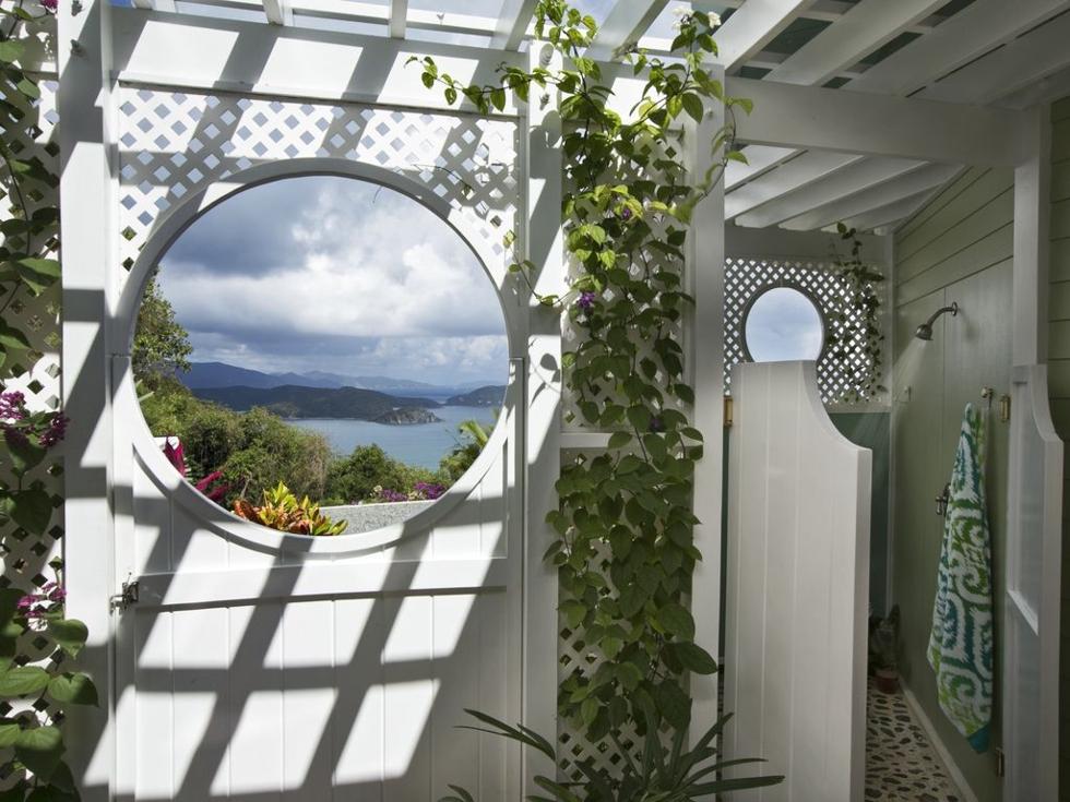 Garden Shower View