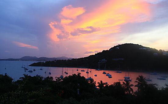 Sunset View from Idyllic