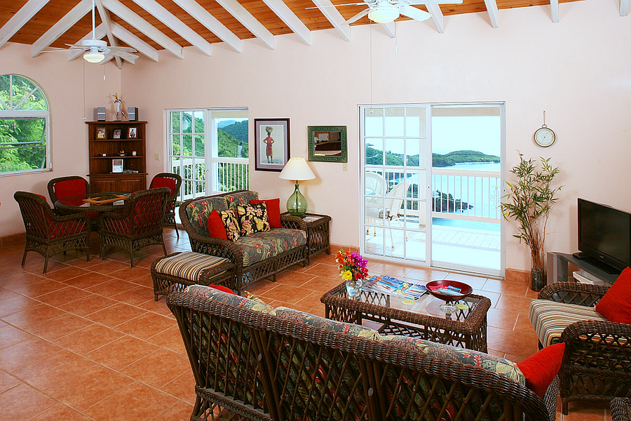 Living Room at Nancy's Folly