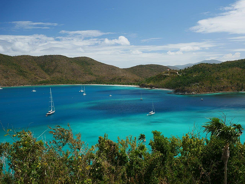 Maho Bay and Francis Bay
