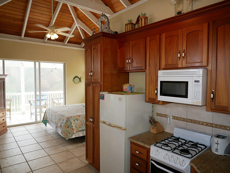 Kitchen in Upper Bedroom