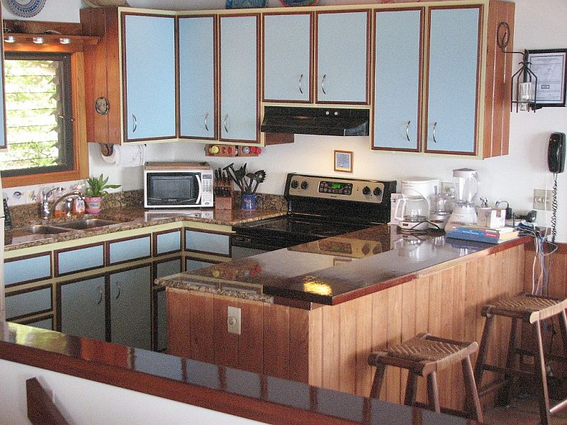 Kitchen at Horizon Cottage