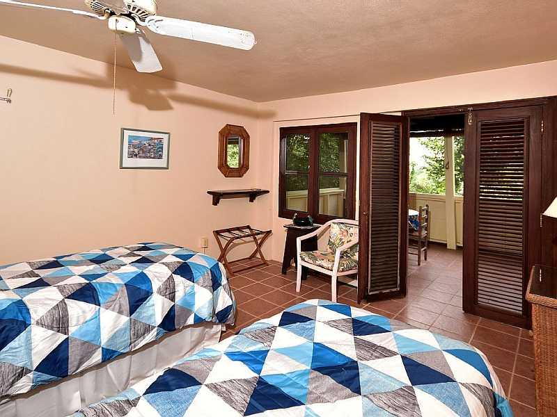 Lower Bedroom at Fish Bay Retreat