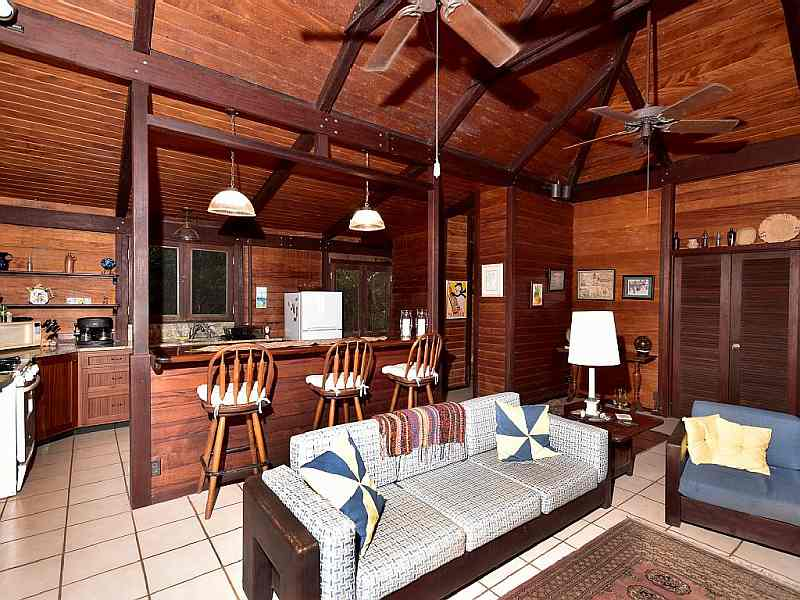 Living Area at Fish Bay Retreat
