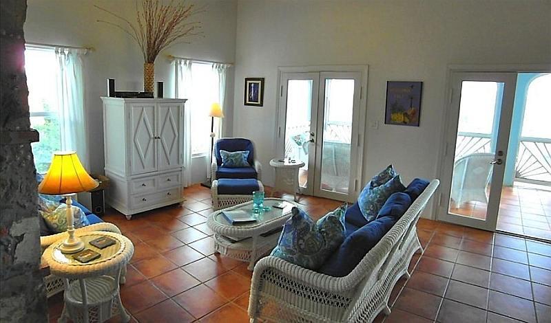 Living room at Waterlemon Villa
