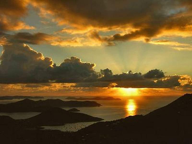 Sunrise from Sapphire Sunrise
