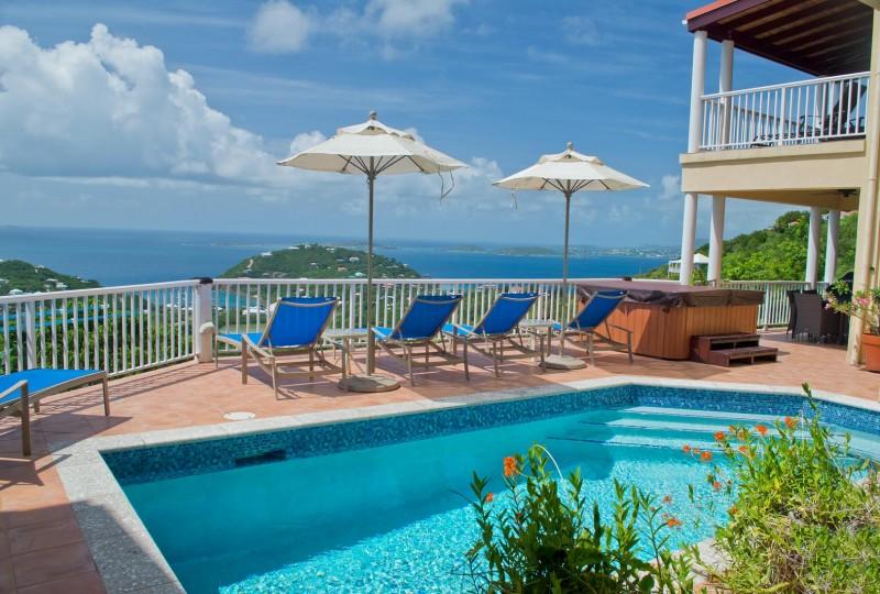 Pool at Villa Madeira