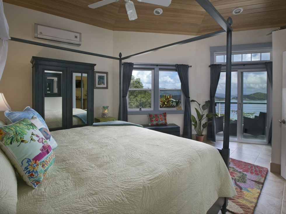 Bedroom at Moonglow Cottage