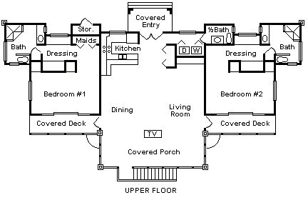 Villa Colorado Floor Plan