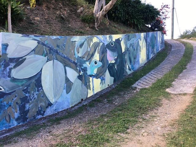 Driveway Mural