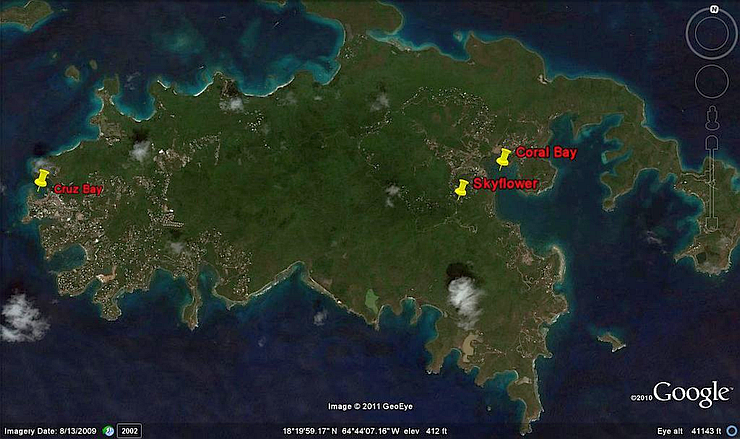 Skyflower Location