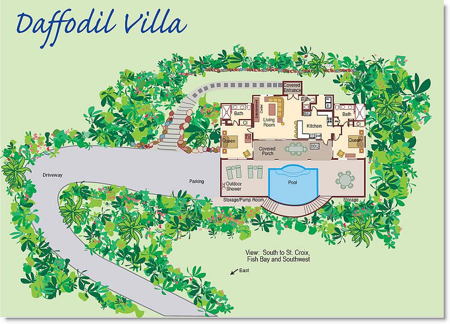 Daffodil Villa Floor Plan