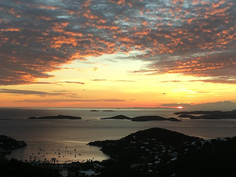 Distant Sunset